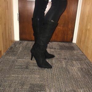 Fergalicious knee high boots